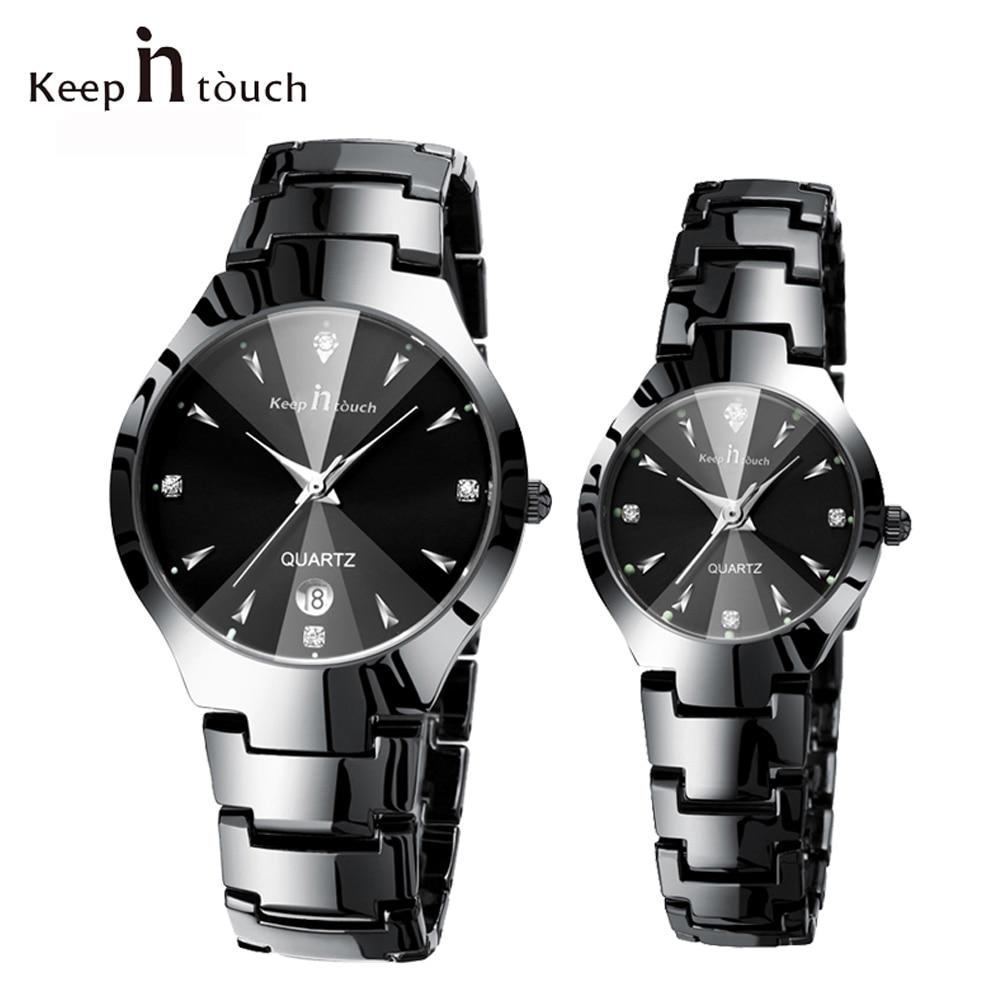 Top Brand Luxury Fashion Couple Watch Pair Waterproof Men Women Lover Watches For Men Quartz Wristwatch Male  Relogio Masculino