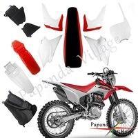 Motorcycle Body Plastic Cover Side Fairing Fender Fuel Tank Seat Kit For Honda CRF230F CRF 230F 2015 2019 Dirt Bike Motocross
