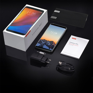 Image 5 - Lenovo Smartphone A5S 5.45 אינץ MTK6761 Quad Core נייד טלפון 2GB 16GB אנדרואיד 9.0 פנים נעילה 4G טלפון 3000mAh