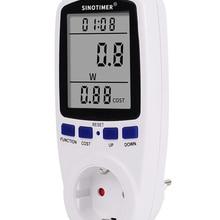 Wattmeter-Meter Monitors Socket Analyzers Kwh Uk-Plug Electricity Power-Consumption Digital