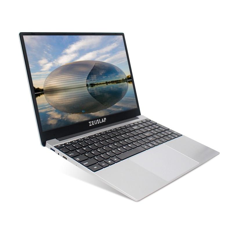 Laptop 15.6 Inch 8GB RAM 64GB 128GB 256GB 512GB SSD Notebook Windows 10 Pro Intel I7 1080P Full Size Layout Keyboard For Student