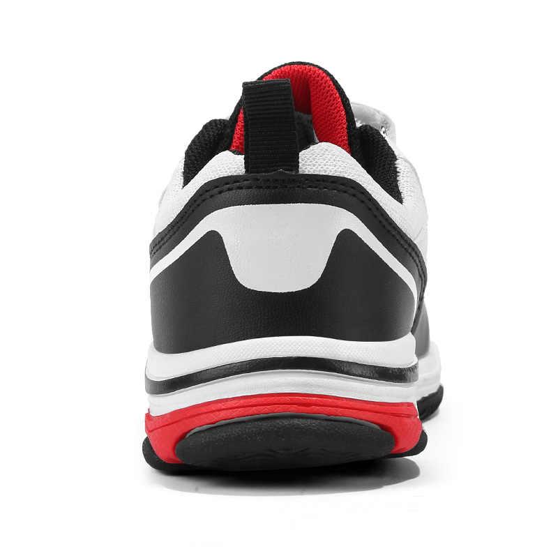 Çocuk ayakkabı erkek spor ayakkabı genç kızlar rahat ayakkabılar moda kamuflaj çocuk spor ayakkabı PU su geçirmez öğrenci eğitmenler yeni