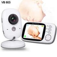 Moniteur bébé avec caméra multifonction WiFi bébé nounou caméra vidéo bidirectionnelle Audio surveillance de la température moniteur de sommeil bébé