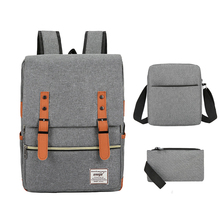 School-Bags Backpacks Teenager Children New Casual for Female Laptop Usb Cute 3pcs/Set