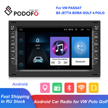 Multimedia POLO Car-Radio PASSAT 2din Android Golf 4 Mp5-Player Gps Navigation Podofo