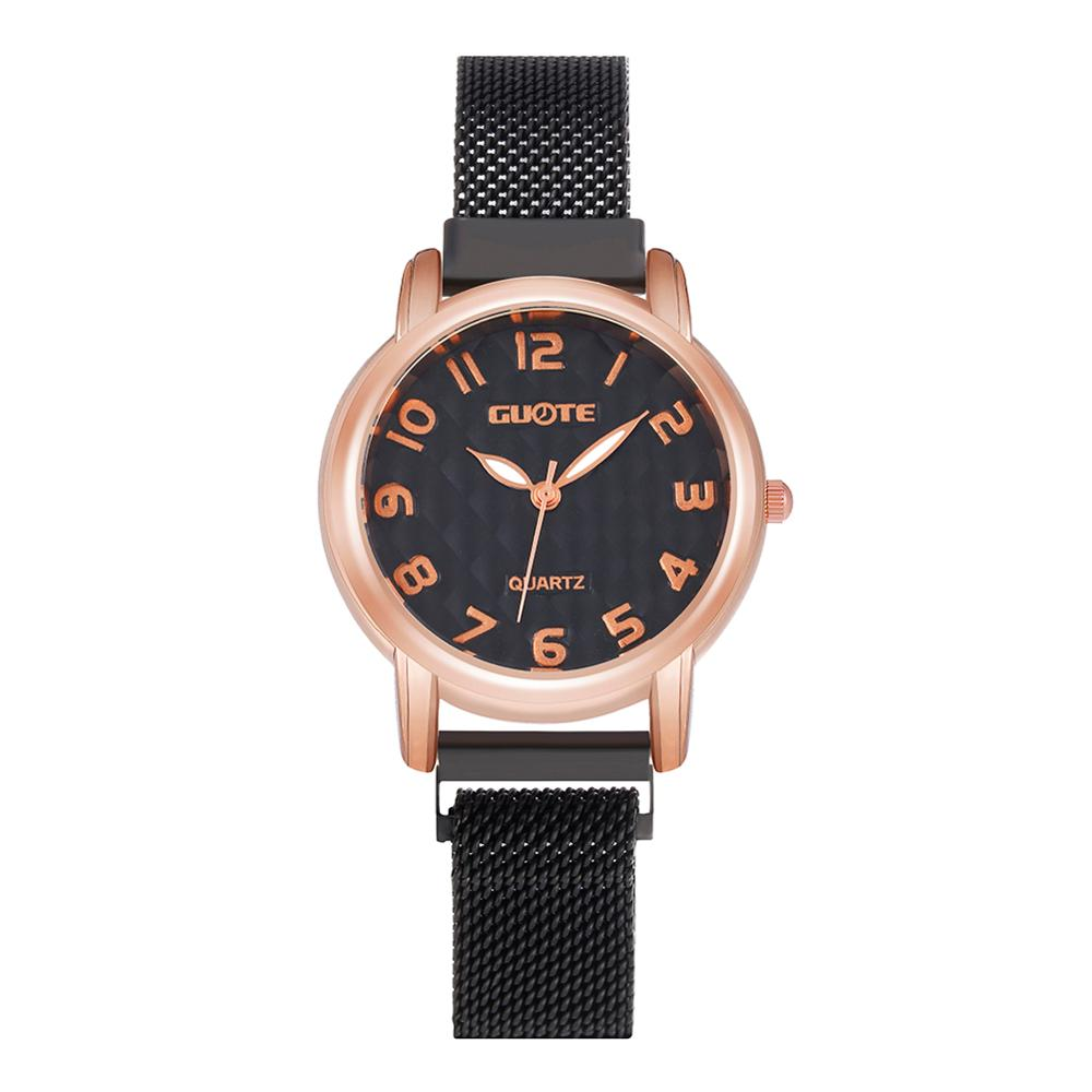 Women Watch New Quartz Bear Watch Brand  Reloj mujer Fashion Stainless Steel Analog Magnet Wrist Watches kobiet zegarka