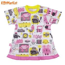 Футболка для девочки Kotmarkot  Colour bunny, 4390569