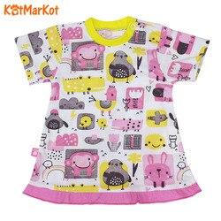 T-shirt pour filles kotmarkot couleur lapin, 4390569