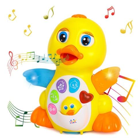 danca cantando brinquedo de pato musical intelectual e aprendizagem brinquedo educacional melhor presente para 1