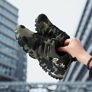 Image 4 - סניקרס לגברים חיצוני נוח אימון ספורט נעלי באיכות גבוהה אור יוניסקס זוג אוהבי מגמת נעלי ריצת 35 47