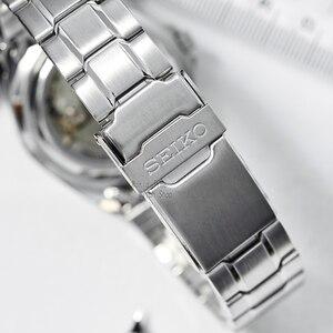 Image 2 - seiko watch men 5 automatic watch Luxury Brand Waterproof Sport Wrist Watch Date mens watches diving watch relogio masculin snzb