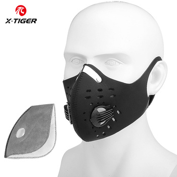 Variation #3 of x-tiger kn95 antiviral coronavirus protection mask cycling face mask anti-pollution breathing mask with activated carbon filters