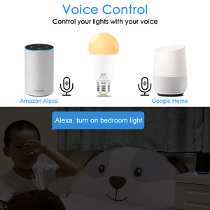 Image 4 - 15W E27 Smart LED Bulb WIFI Control Equal to 100W Incandescent Lamp Warm or Cool White Light Compatible Alexa and Google Home