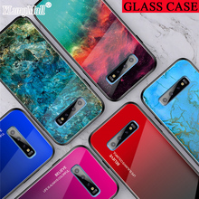 Marble Glass Case for Samsung Galaxy S9 S10 Plus S10e Note 910 Pro A50 A70 A60 A40 A30 A20 A10 A7 2018 A10e A20e Case Hard Cover marble glass case for samsung galaxy s9 s10 plus s10e note 910 pro a50 a70 a60 a40 a30 a20 a10 a7 2018 a10e a20e case hard cover