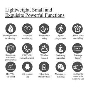 Image 2 - MKS5 Smart Watch Activity Fitness Pedometer Health Heart Rate Sleep Tracker ip67 Waterproof Sport watch for Men Women smartwatch