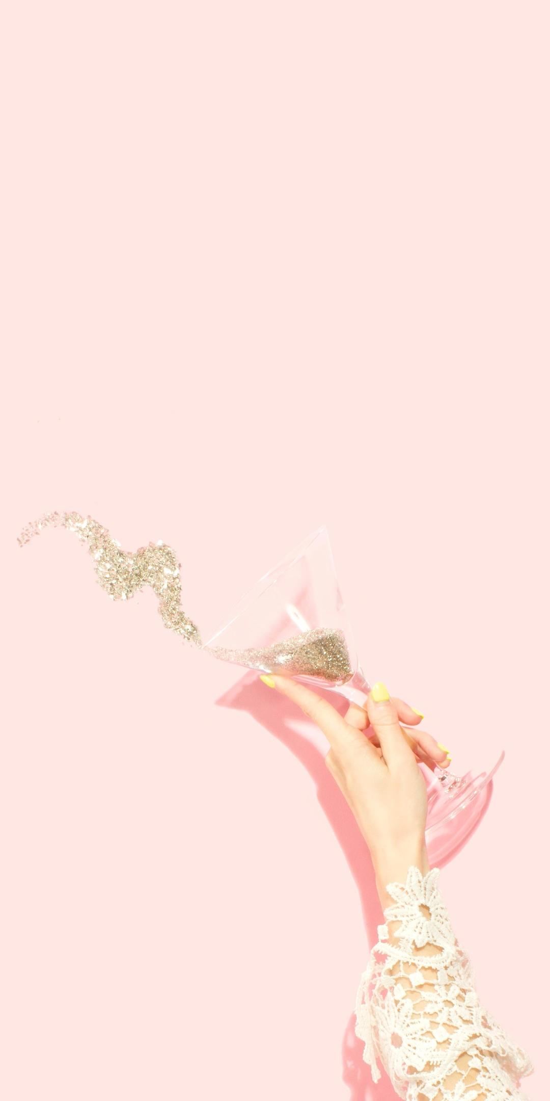 粉色系少女心手机壁纸插图31