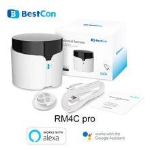 Broadlink bestcon rm4c pro automação residencial inteligente wifi ir rf universal controle remoto inteligente funciona com alexa google casa