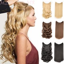Hairpieces Synthetic Wavy Hair Extensions