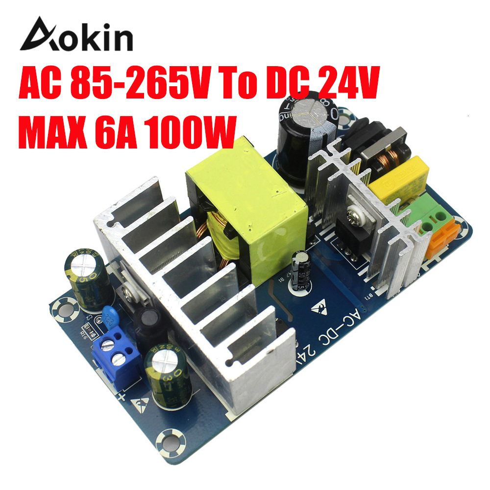 DC 85 24 V Food Source Module AC 110 v 220 v DC 24 V 6A <font><b>4A</b></font> 100 W AC-DC Switching Power Supply Board image