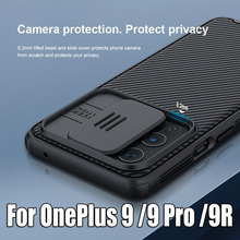 For OnePlus 9 Pro Case NILLKIN CamShield Pro Slide Camera Cover For OnePlus 9 Phone Cover For OnePlus 9R Lens Protection Casing