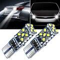 2 шт. T10 W5W супер яркий светодиодный парковочные фары автомобиля для Ssangyong kyron rexton, korando actyon