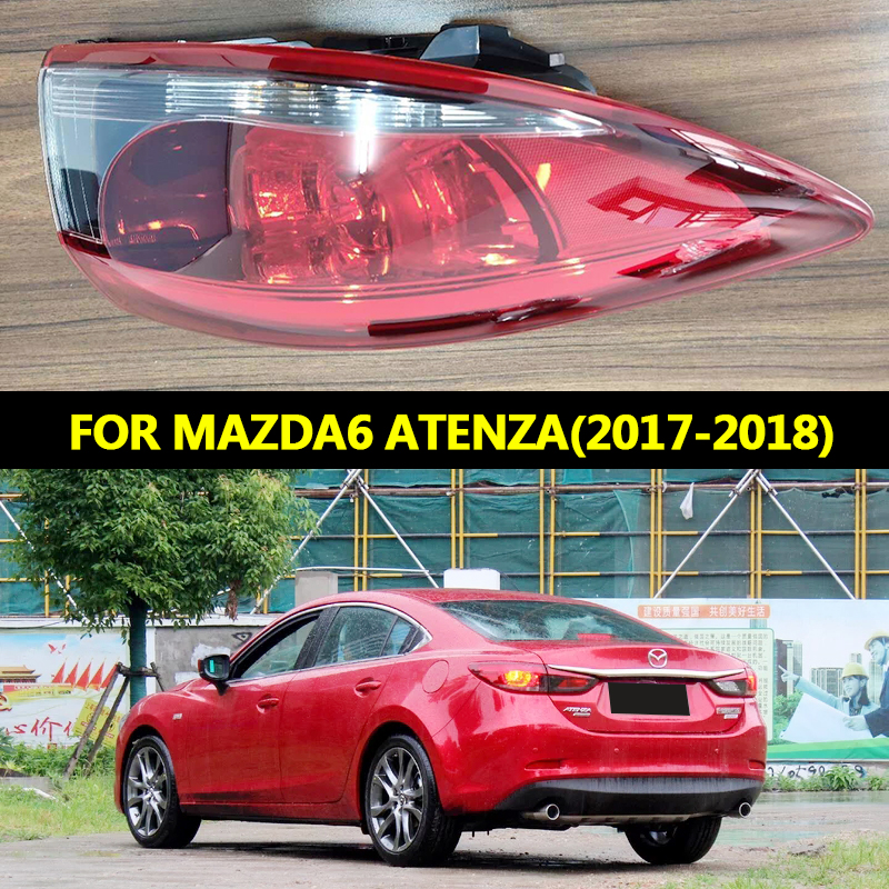 <font><b>LED</b></font> Rear Lamp <font><b>LED</b></font> DRL+Brake+Park+Signal Stop Lamp For <font><b>Mazda</b></font> <font><b>6</b></font> Atenza <font><b>LED</b></font> <font><b>Tail</b></font> <font><b>Light</b></font> 2017-2018 image