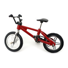 Mini Finger Bmx Toys Mountain Bike BMX Fixie Bicycle Finger Scooter Toy Creative Game Suit Children Grownup Random Color(China)