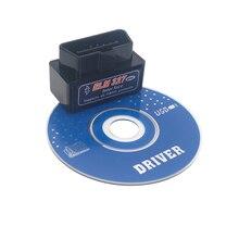 Автомобильный диагностический сканер ELM327 V2.1 Bluetooth OBD2 с CD-драйвером считыватель кодов CAN-BUS поддерживает универсальный для Nissan Mazda Suzuki