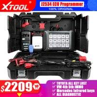 XTOOL-escáner de diagnóstico de coche, programador VCI J2534, codificación ECU, PK 908P, actualización gratuita en línea, A80pro Master, KC501, KS01, OBD2