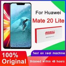 Originele 6.3 ''Display Vervanging Voor Huawei Mate 20 Lite Lcd Touch Screen Digitizer Vergadering Voor Mate20 Lite Display