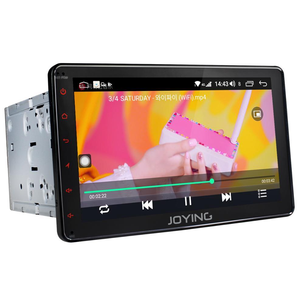 "Image 4 - JOYING 2 din car radio Android 8.1 Octa Core built in 4G& DSP 4GB +64GB GPS universal 8""head unit support wireless Carplay audioCar Multimedia Player   -"