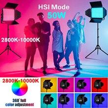 Sokani X50 panneau LED RGB Kit de lumière vidéo 2800K 10000K lumière de Studio pour la photographie à intensité réglable avec des lumières à distance rvb pour les Photos