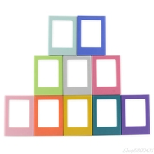 Magnet-Picture-Frame Photos Mini for Holding 3inch Fridge Refrigerator DIY Colorful O23