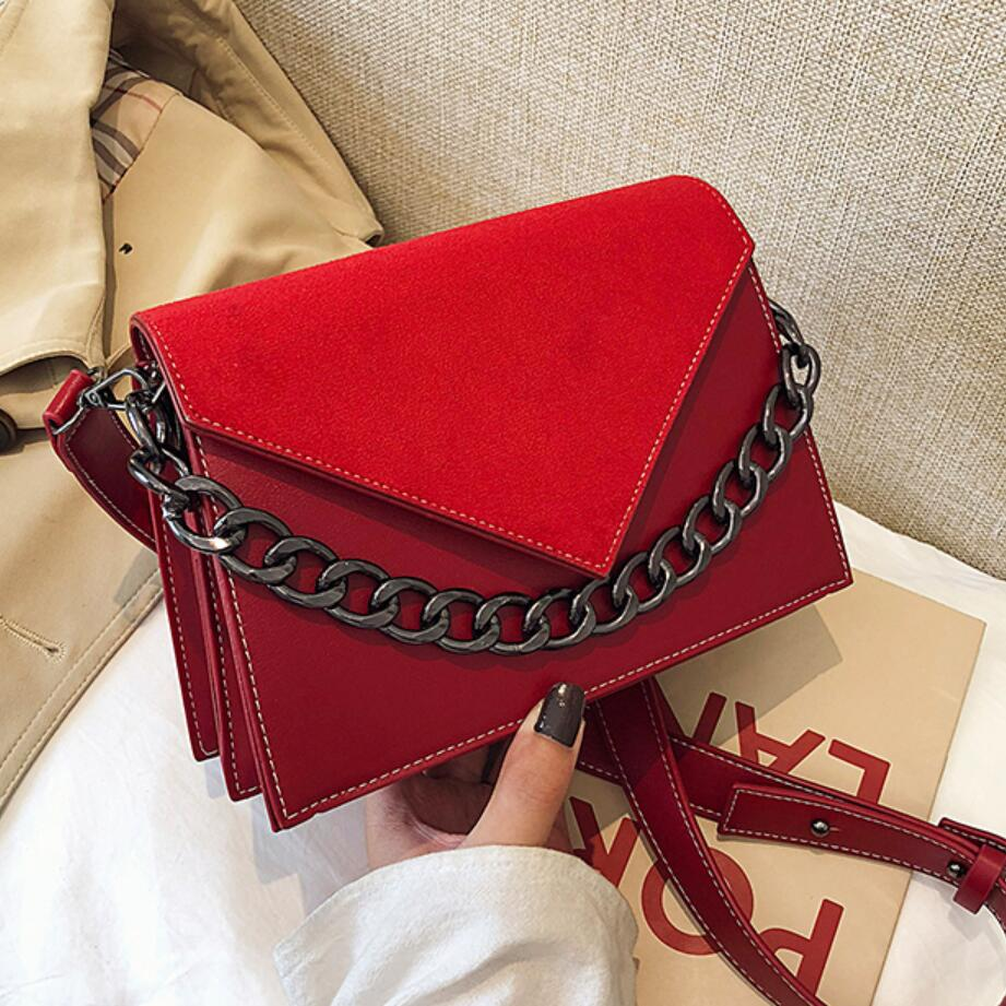 Vintage Fashion Female Tote Bag 2019 New High Quality Matte PU Leather Women's Designer Handbag Travel Shoulder Messenger Bag