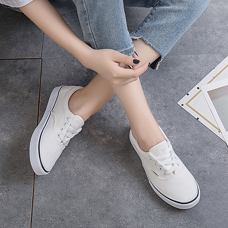 Women Shoes Men Original All Casual Shoes Star Canvas Shoes Low-Top Unisex Sneakers Classic Skateboarding Shoe White Skate Shoes image