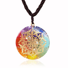 Chakra Orgone Pendant Positive Energy Crystals Promote Emf Protection And Healing Chakra Help Enhance Visionary Power