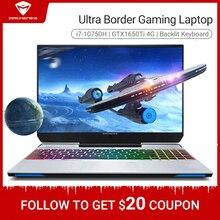 Machenike F117 VB1 Gaming Laptop 2020 i7 10750H GTX1650Ti 8GB RAM 512G SSD 15.6inches RGB Keyboard Gaming notebook Metal A shell