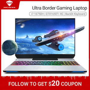 Image 1 - Machenike F117 VB1 Gaming Laptop 2020 i7 10750H GTX1650Ti 8GB RAM 512G SSD 15.6inches RGB Keyboard Gaming notebook Metal A shell