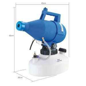 Image 5 - חשמלי ULV Fogger מכונת במיוחד נמוך נפח מרסס מרסס ערפל דק מפוח חומרי הדברה Nebulizer 4.5L קוטל חרקים Nebulizer