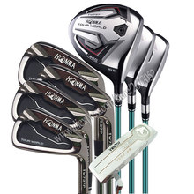 Nwe Golf Clubs HONMA TW737P Complete Set black Golf driver wood irons.putter Golf Clubs Graphite shaft No bag Free shipping