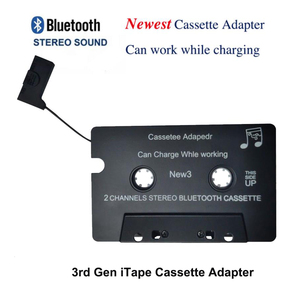Image 3 - Newest Wireless iTape CSR Bluetooth V4.0+EDR Stereo Audio Cassette Player Receiver Adapter can work while charging  for Car Deck