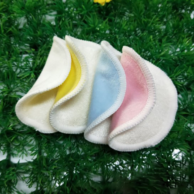 2/5pcs Reusable Bamboo Fiber Makeup Remover Pads  Washable Rounds Cleansing Facial Cotton Make Up Removal Pads Tool 6