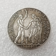 1935 Deutsche Coin Germany COIN COPY Type Commemorative Collection old Coins
