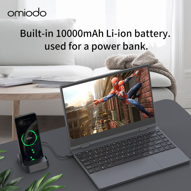 13.3 inch Lapdock Built in Big Battery Type C USB HDMI for Expand Switch  Mobile PC connecting with Huawei Samsung phones|LCD Monitors| - AliExpress