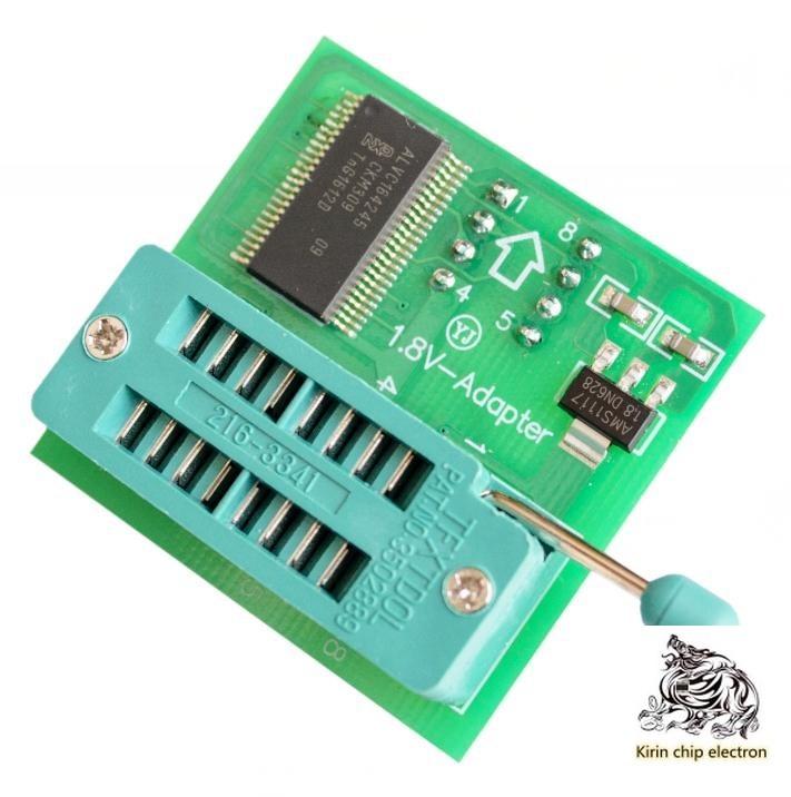 5PCS/LOT 1.8V Converter SPI Flash SOP8 DIP8 Converter Plate Board MX25W251.8V Adapter Plate