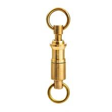Mosiądz Quick Release breloczek podwójny pierścień breloczek odkryty klamra odpinany Pull-Apart breloki podwójne dzielone pierścienie breloki tanie tanio CN (pochodzenie) Kieszeń Multi Tools