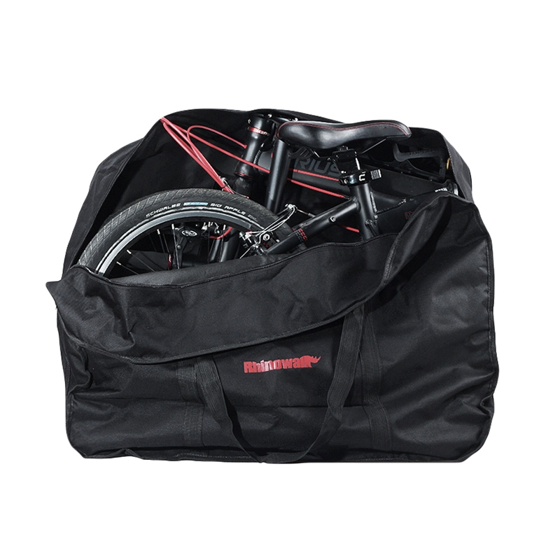 """Outdoor 14\""""16\""""20\"""" Folding Bike Carrier Carry Packing Bag Foldable Bicycle Transport Bag Waterproof Loading Vehicle Pouch