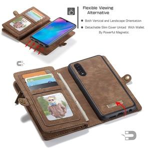 Image 3 - Luxe Lederen Tas Case Voor Huawei P30 Pro P20 Lite Flip Wallet Cover Magnetische Telefoon Tas Gevallen Voor Huawei mate 20 Pro
