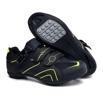 Profissional ao ar livre sapatos de ciclismo mtb respirável não-bloqueio de corrida sapatos de bicicleta de estrada dos homens tênis antiderrapante ciclismo sapatos de bicicleta 1
