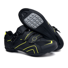 цена Professional Outdoor Cycling Shoes MTB Breathable Non-Locking Racing Road Bike Shoes Men Sneakers Non-Slip Cycling Bicycle Shoes онлайн в 2017 году